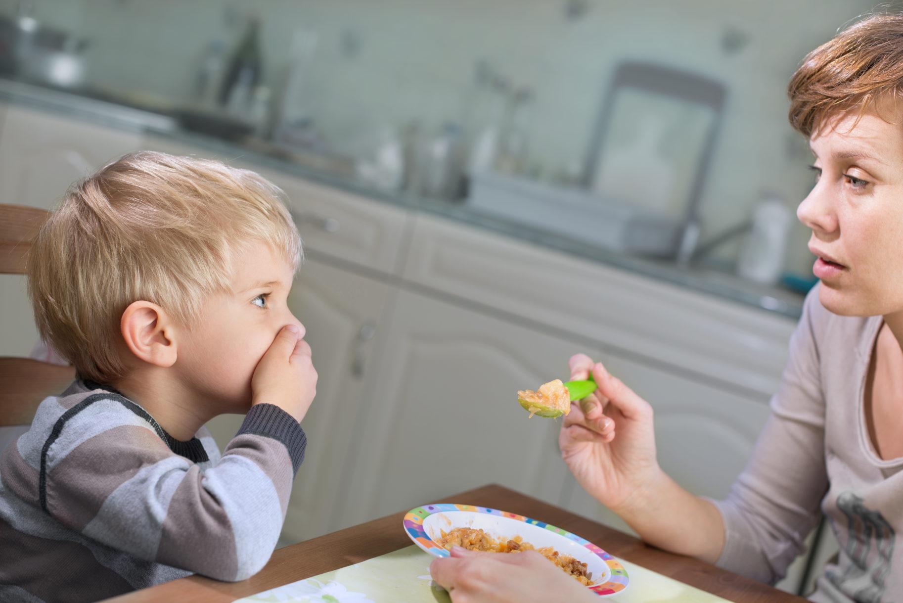 Niechęć dziecka do jedzenia